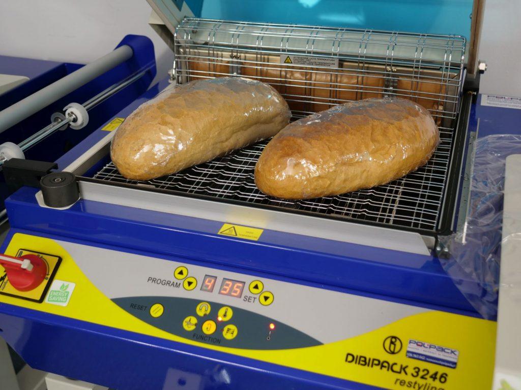 pakowanie pieczywa w folię