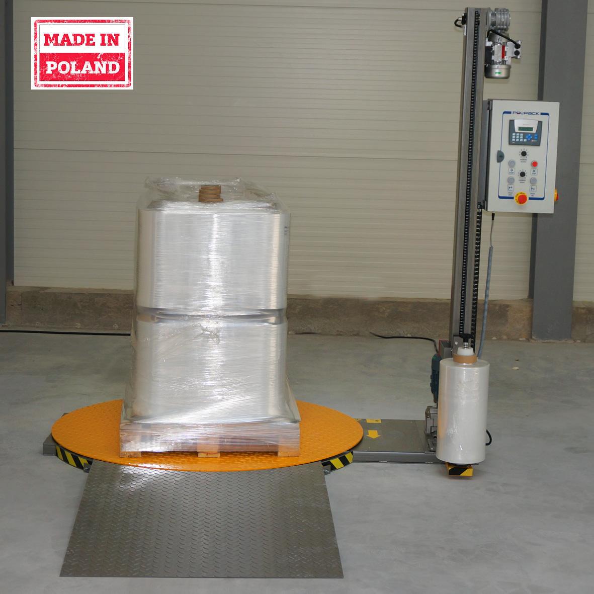 Owijarka palet Wrapper SE produkowana w Polsce