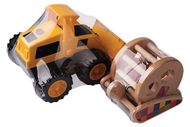 folia DECOTERM do pakowania zabawek