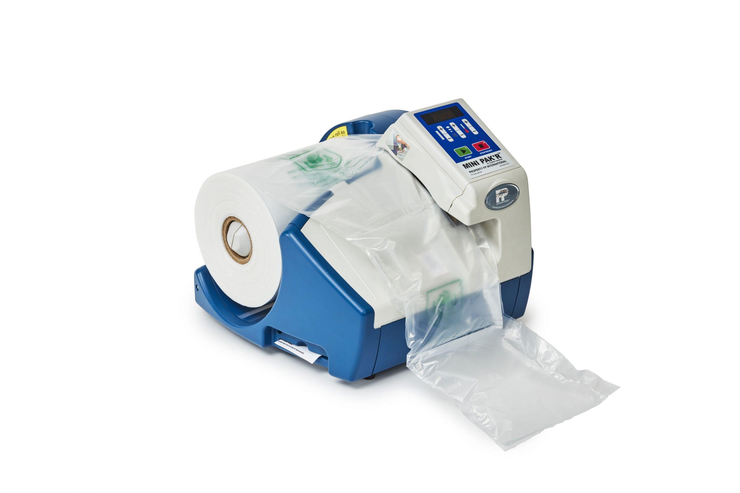 Mini Pak'r maszyna do poduczeczek foliowych