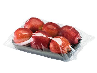 pakowanie jablek w folie