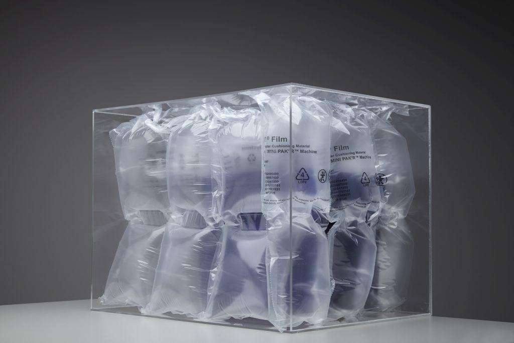 Podwójne poduszeczki z powietrzem do przesyłki