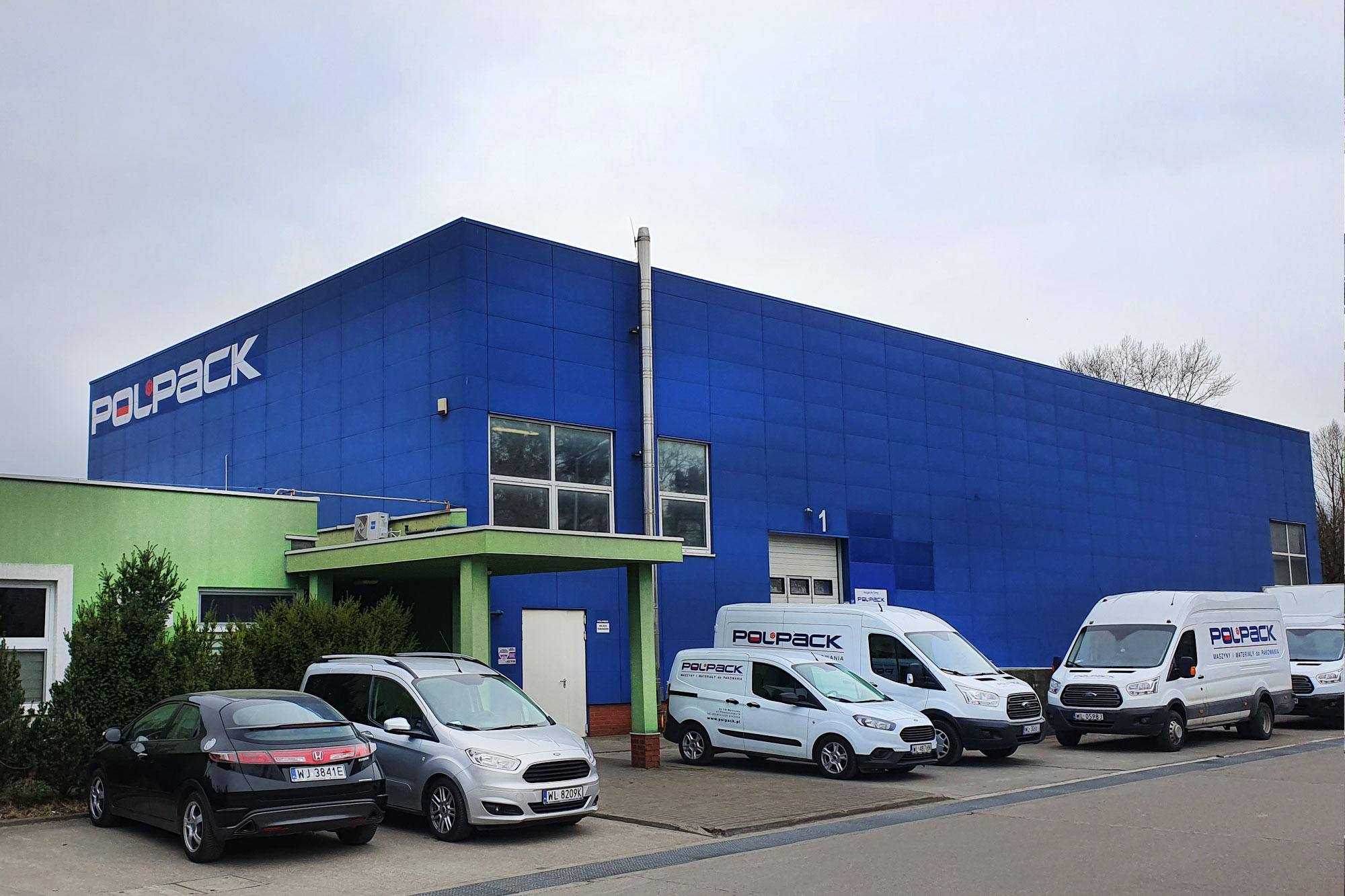 Siedziba firmy Polpack w Warszawie