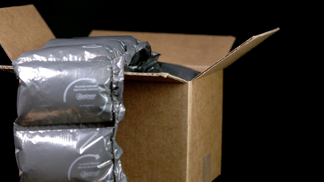 ekologiczne wypełnienie paczki