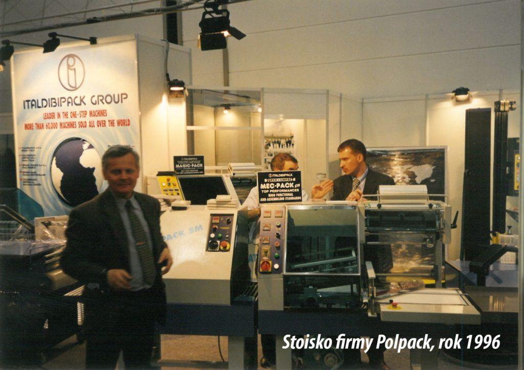 stoisko firmy Polpack na targach