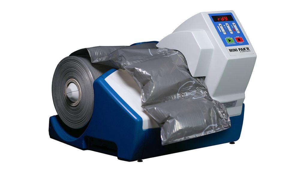 maszyna mini pak'r z folią PCR