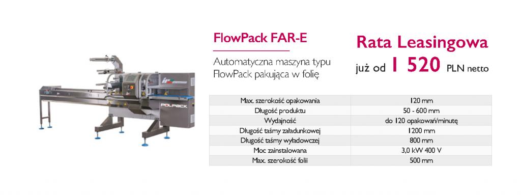 Finansowanie poprzez leasing zakupu maszyn pakujących typu flow-pack