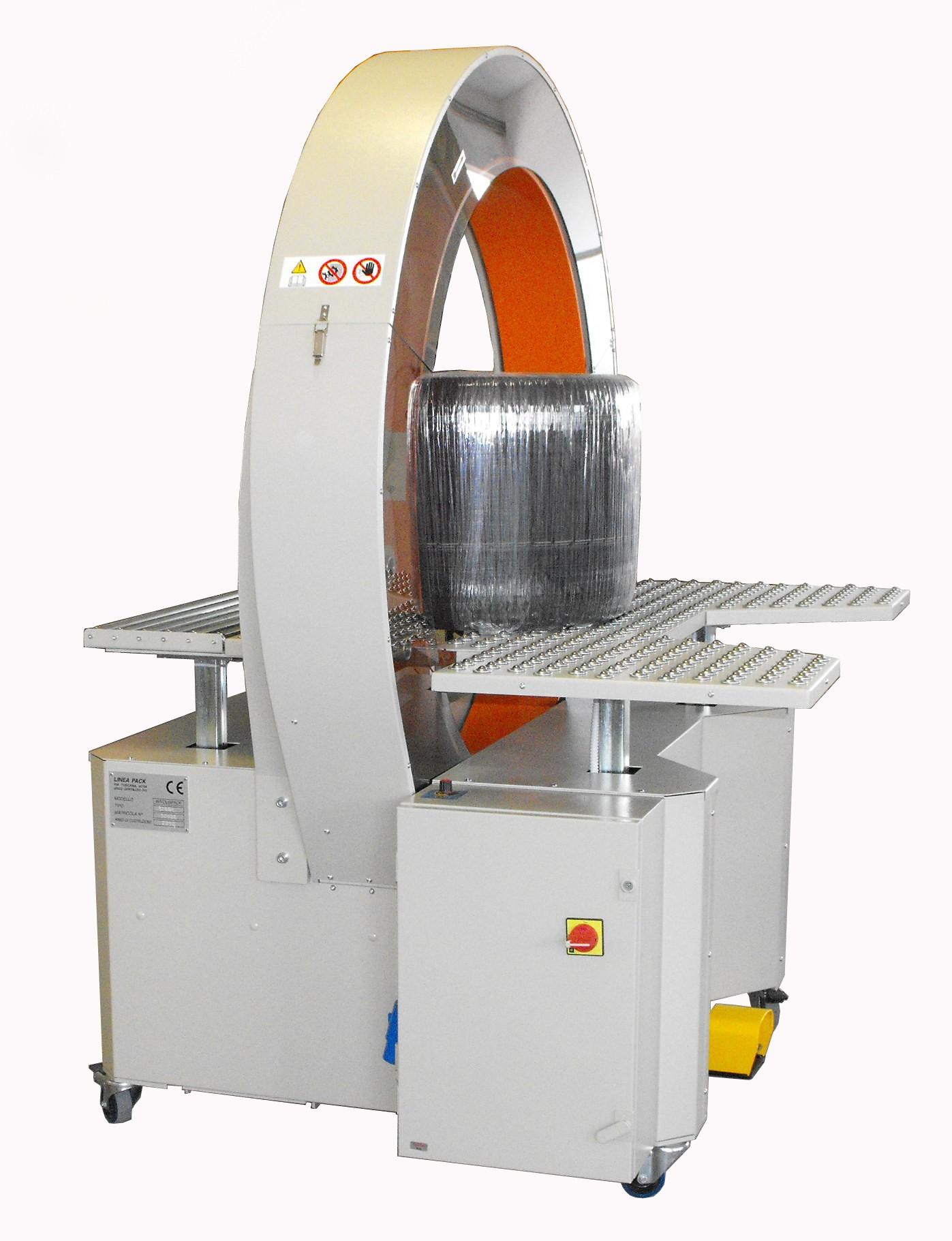 Maszyna do pakowania opon w folię stretch