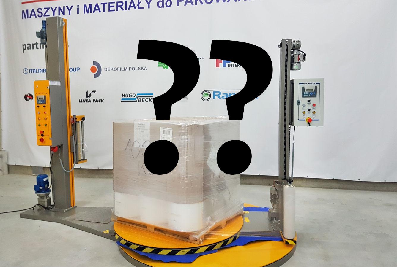 maszyny do pakowania palet