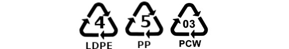 symbole recyklingu